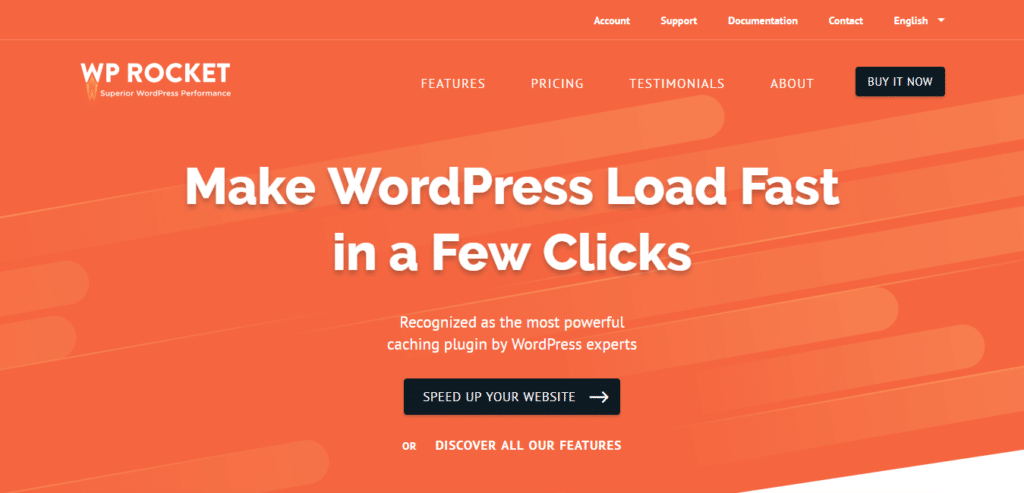 WP Rocket - Image cache optimize WordPress plugin